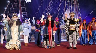 Los Reyes Magos recorren Palma en una cabalgata 'secreta' marcada por las restricciones