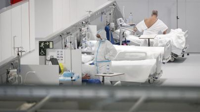 Baleares registra 102 pacientes en UCI, cifra récord de la pandemia