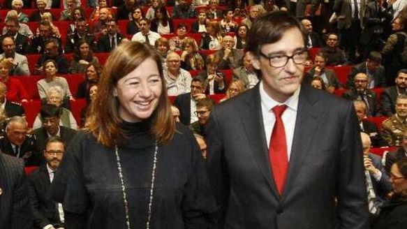 Armengol: 'Si Illa fuera president de Catalunya, habría una gran posibilidad de alianzas'