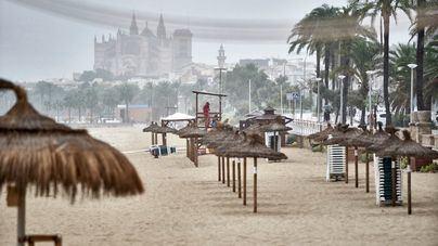 'Filomena' trae a Baleares lluvias abundantes