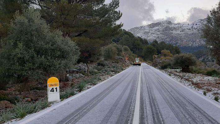 Filomena seguirá descargando agua en Mallorca este viernes