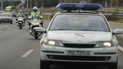 Cuatro heridos en una colisión frontal en la carretera de Sóller