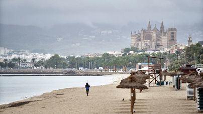 Mallorca y Menorca, en aviso amarillo por lluvias