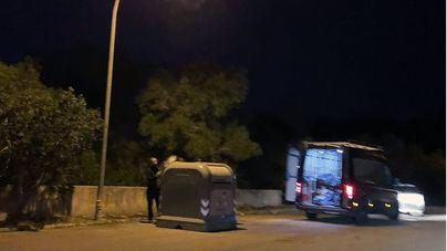 Multa a un vecino de Llucmajor por tirar restos de obra en Las Palmeras