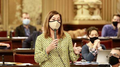 Armengol explicará en sesión extraordinaria en el Parlament la evolución de la Covid 19