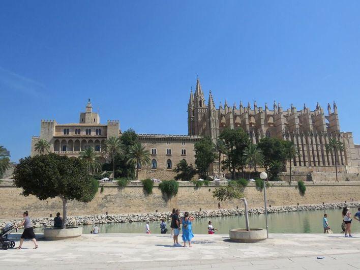 Cielo poco nuboso en Baleares y heladas en Mallorca