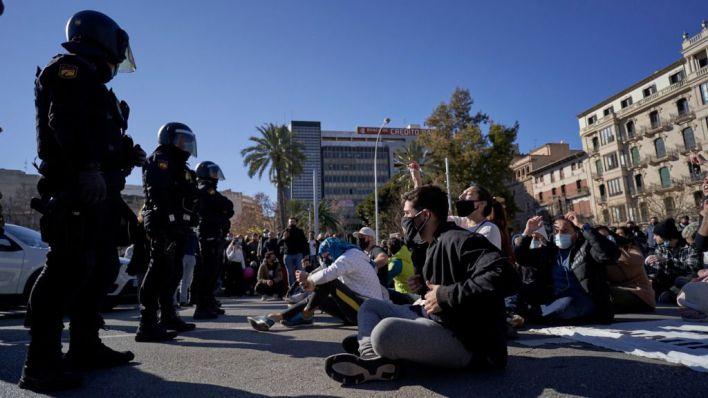 Calvo, sobre la protesta de restauradores: 'Una acción policial desproporcionada no hubiera ayudado en nada'