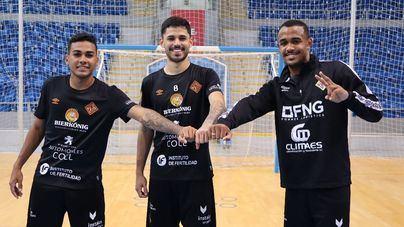 Los fichajes invernales del Palma Futsal ya entrenan con el equipo