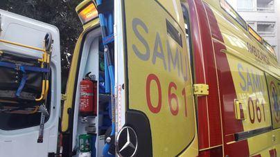 Dos heridos en un incendio registrado en un edificio de Son Rapinya