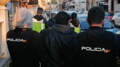 Arrestados dos colombianos que tenían su propio laboratorio de cocaína en Playa de Palma