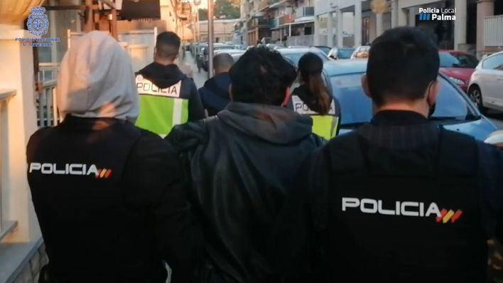 Arrestados dos colombianos que tenían su propio laboratorio de cocaína en Palma
