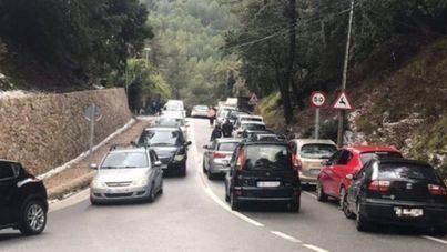 Cortes intermitentes de carreteras en la Serra