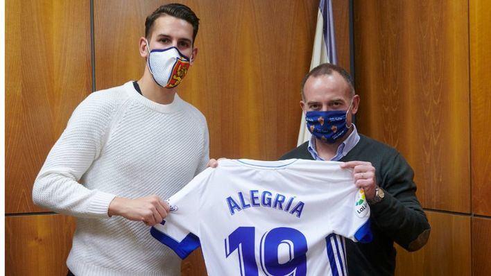 Álex Alegría abandona el Real Mallorca y ficha por el Real Zaragoza