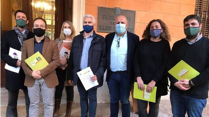 Més y Pi instan al Parlament a que presente un recurso de inconstitucionalidad contra los PGE porque