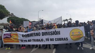 Nueva protesta multitudinaria de los restauradores contra Armengol