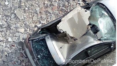 'Hortense' deja centenares de incidencias en Balares