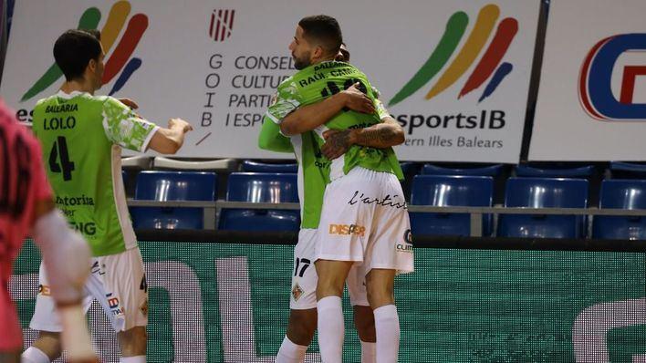 Sufrida victoria del Palma Futsal que le permite mantener el liderato