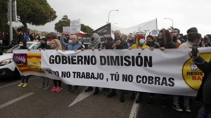 Anuncian otra manifestación si el Govern no dice el martes cuándo puede abrir restauración