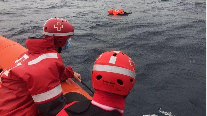 Simulacro de rescate de personas en el Port de Sóller
