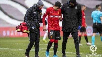 El Real Mallorca pierde a Fran Gámez por una lesión en el gemelo