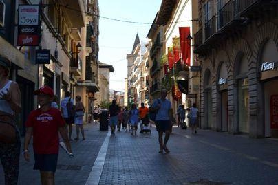 Cielo despejado con brumas matinales en Baleares