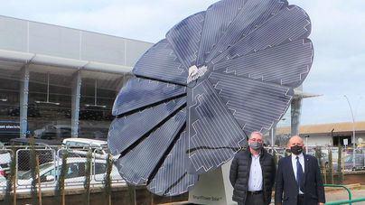 Asima instala el sistema Smartflower para suministrar energía verde a las aula de formación