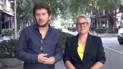 alberto Jarabo y sonia Vivas, candidatos de Podemos a Cort