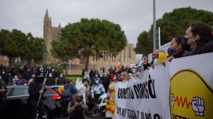 57.000 euros en multas para 16 participantes de la última protesta de restauradores