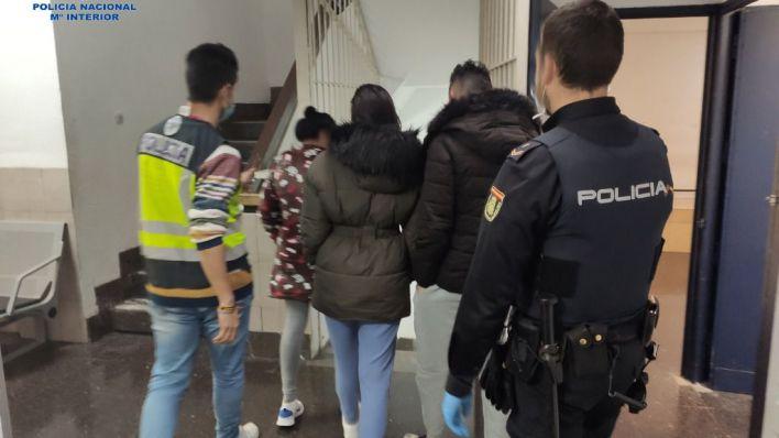 8 detenidos de una misma familia tras intentar okupar un edificio de la calle Manacor