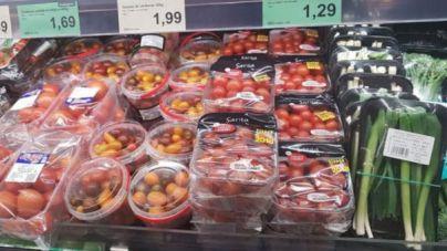 El 7,7 por ciento del peso de la compra estándar en Mallorca son envases