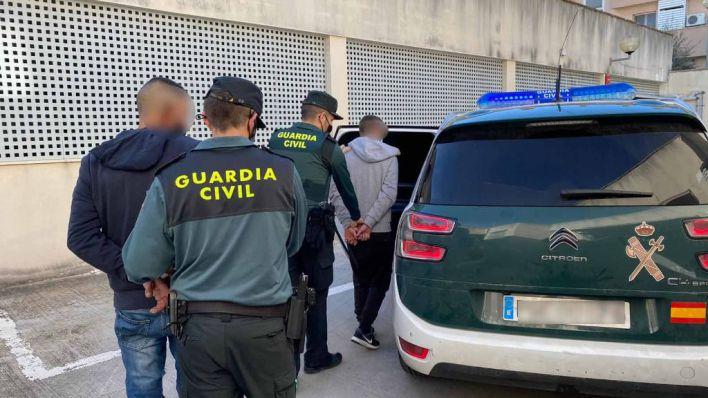 Dos detenidos cuando intentaban okupar una finca en Inca