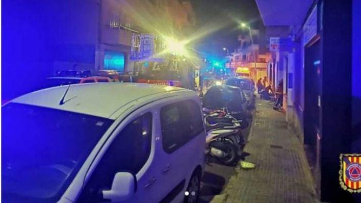 Un fallecido al incendiarse una vivienda en el Port de Pollença
