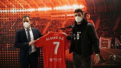 Álvaro Giménez ya es jugador del Mallorca hasta final de temporada