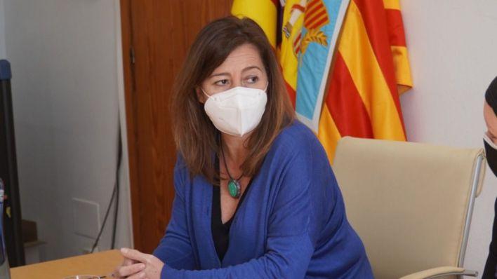 Armengol no llevará el incumplimiento del REB ante el Constitucional