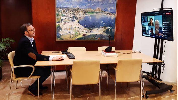 Sindicatos y patronales escuchan las propuestas postCovid del Ayuntamiento de Palma
