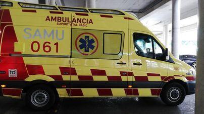 En estado crítico un hombre de 66 años tras caer desde una altura de dos metros en Algaida