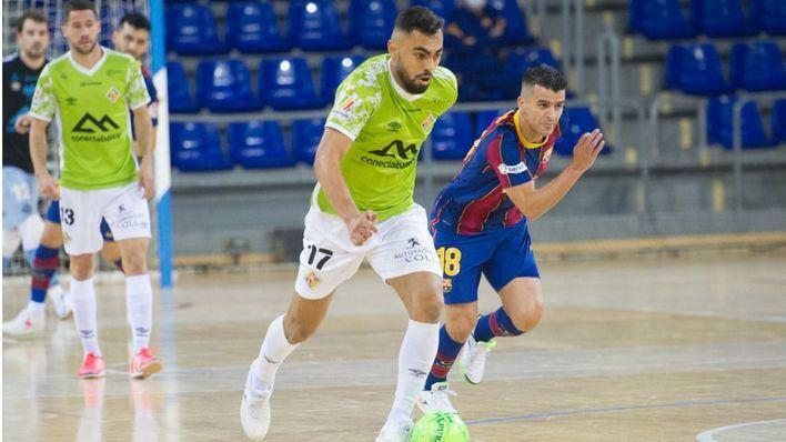 No pudo ser: el Palma Futsal cae 2-1 ante el Barça