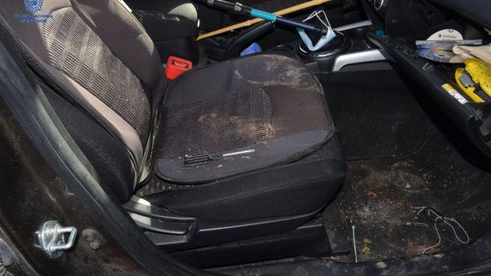 Detenido por 11 robos en interior de coches en Ibiza