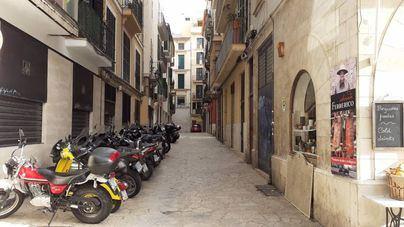 Cuatro calles de Palma inician su conversión en vías peatonales