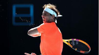 Nadal supera con facilidad al serbio Laslo Djere en su debut en el Open de Australia