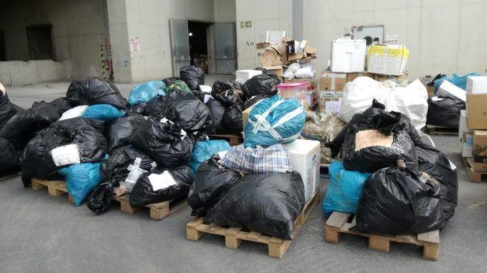 Incineradas tres toneladas de droga inacutada en varias operaciones policiales