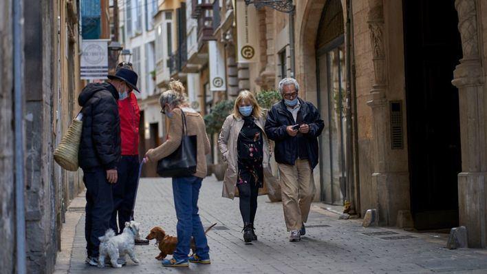 Palma pierde en un año más de la mitad de sus peatones