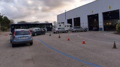 La ITV de Calvià no reduce las listas de espera en Mallorca; para motos sólo hay citas en Manacor
