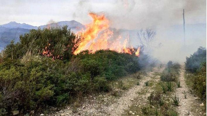 Desalojan a 47 personas por un incendio en Alcúdia