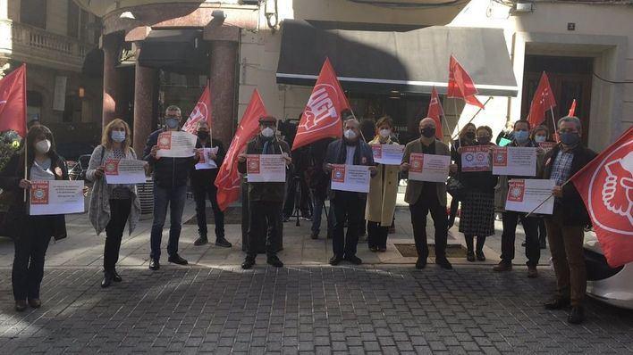 CCOO y UGT exigen que se derogue la reforma laboral y actualizar las pensiones