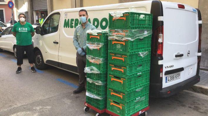 Mercadona donó en 2020 un total de 215 toneladas de productos de primera necesidad a entidades sociales de Baleares
