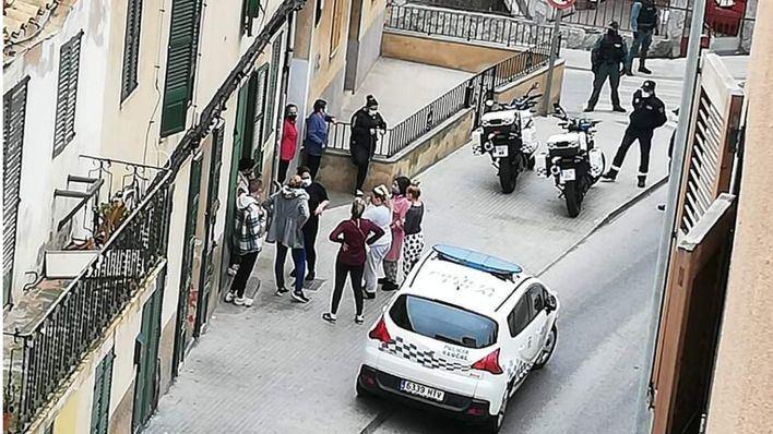 Tres heridos en una pelea multitudinaria entre familias gitanas en s'Arenal de Llucmajor