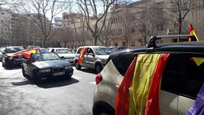 Nueva marcha motorizada para pedir la dimisión de Armengol y Sánchez
