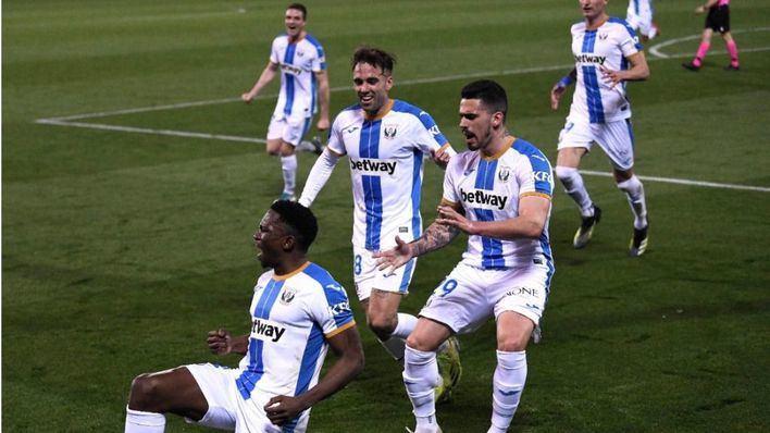 El Mallorca salva el liderato tras caer el Almería en el partido aplazado de Leganés