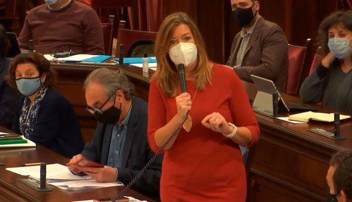 Patricia Gómez a los sanitarios: